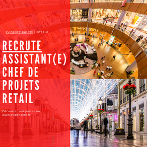 Assistant(e) Chef De Projets Retail (H/F)