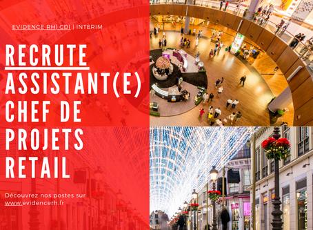 Assistant(e) Chef De Projets Retail (H/F)