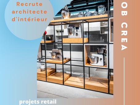 Architecte d'intérieur Création de Concept retail (H/F)