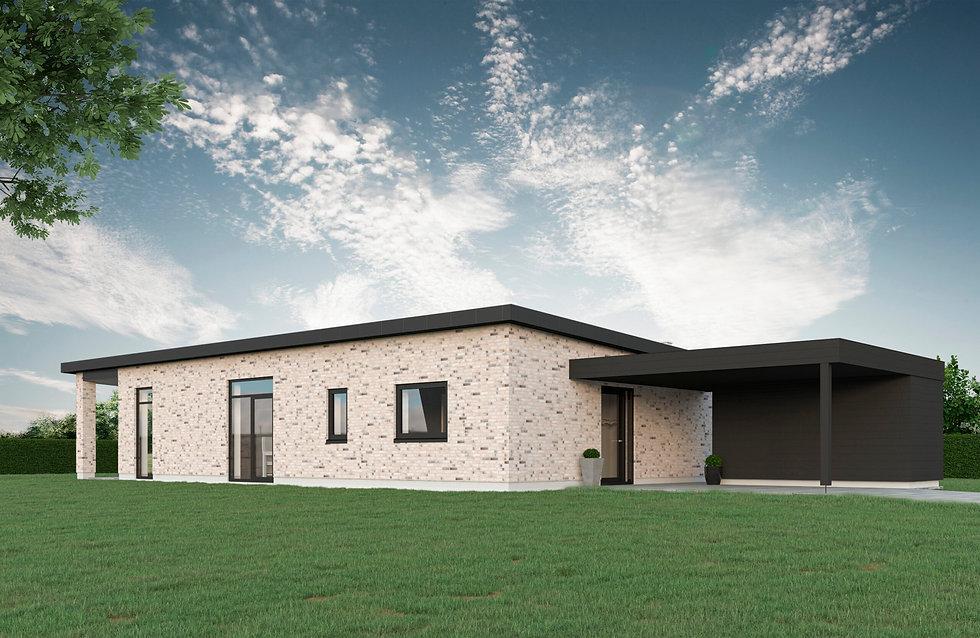 126 m² Funkisvilla
