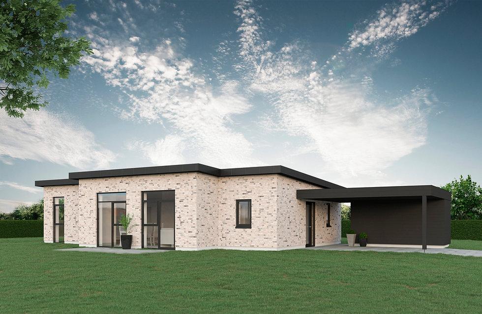 126 m² T-hus
