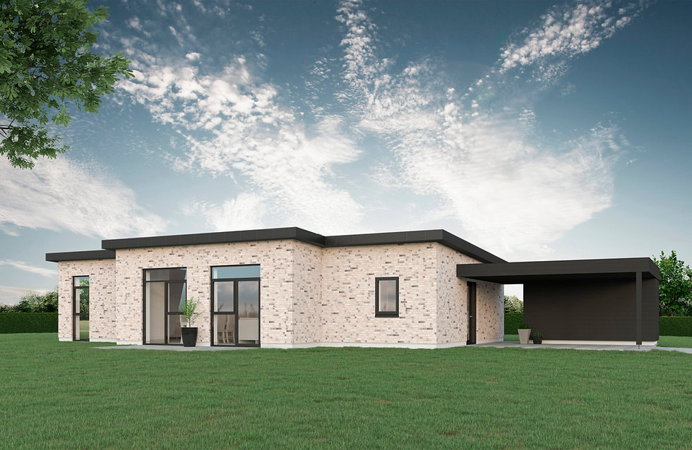 136 m² T-hus