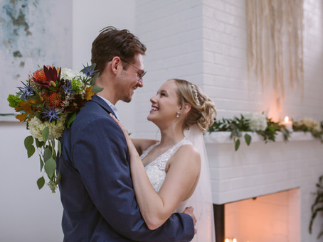 Why couples choose to have an intimate wedding ceremony…
