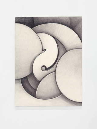 Untitled, 2018  Graphite on paper  11 1/3 x 8 2/4 in -- 29.7 x 21 cm