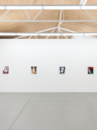 Paintings, 2018  installation view