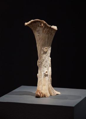 Untitled, 2011  bone,  Ed. ii with variations  10 1/2 x 5 x 5 in -- 27 x 12 x 12 cm