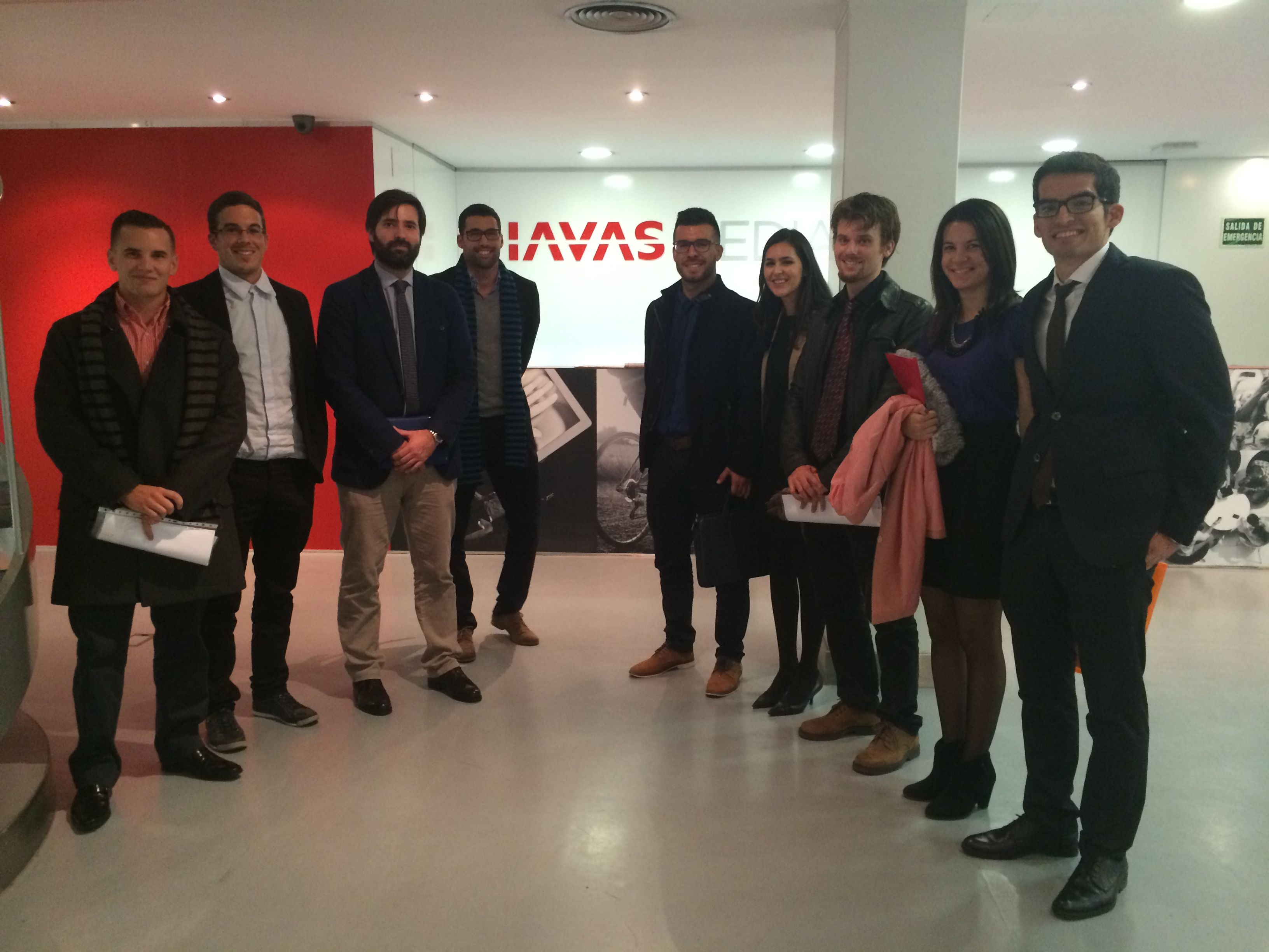 Sede de Havas Media en Madrid