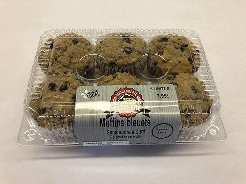 Muffin Sans sucre ajouté Bleuet