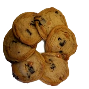 Biscuits chocolat au lait et caramel
