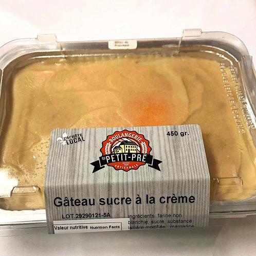 Gâteau Sucre à la Crème