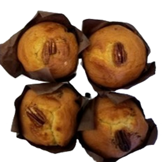 Muffins Caramel et Pacanes