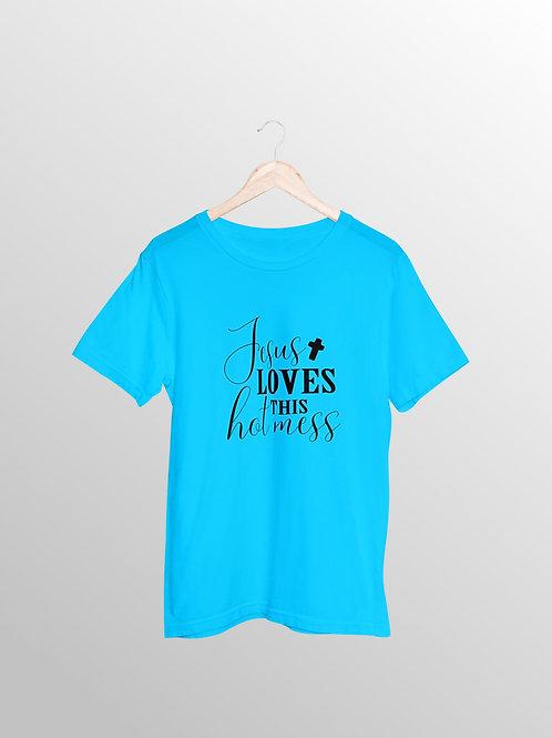 Jesus Loves This Hot Mess Shirt