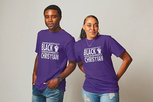Unapologetically Black Unashamedly Christian Shirt