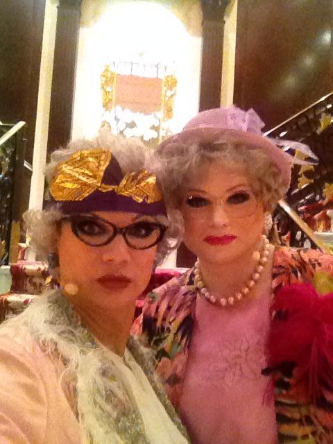Herta&Berta auf der MS Columbus 2014