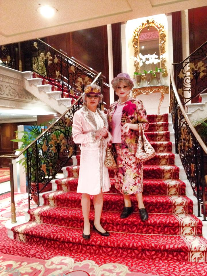 Herta&Berta auf der MS Columbus