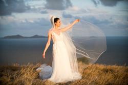 Bride at Dusk