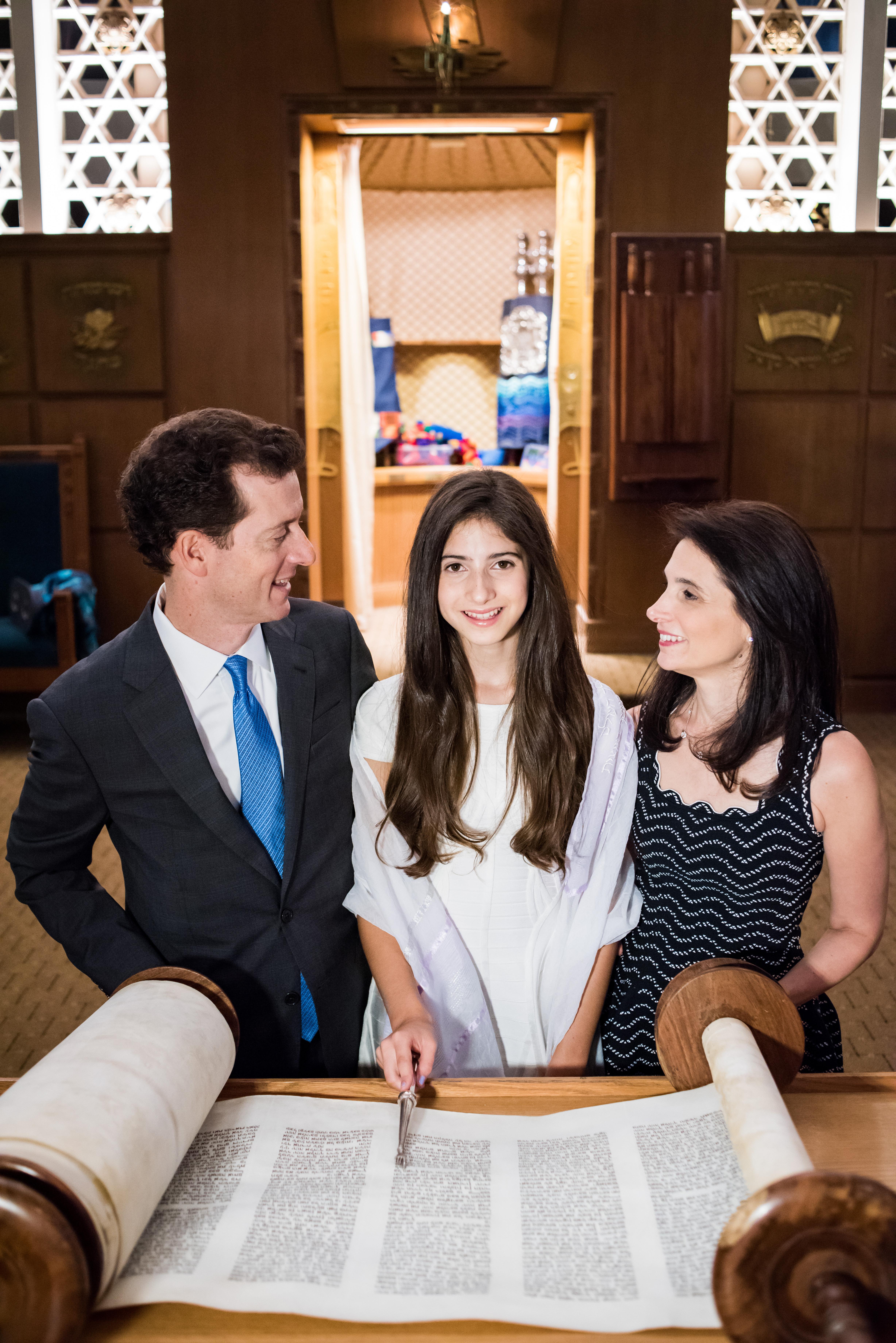 Bat Mitzvah and Parents