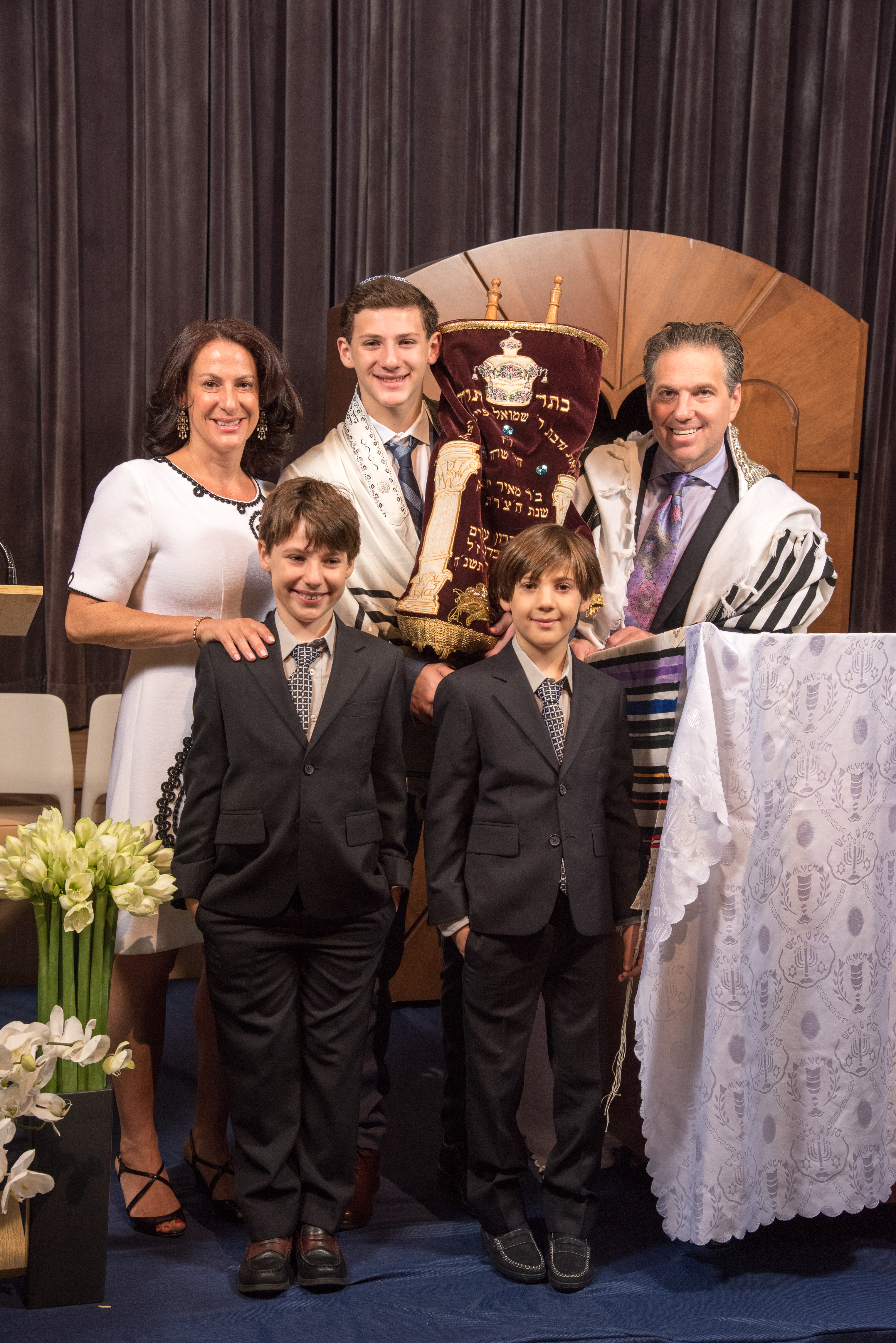Family on the Bimah