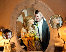 Couple in Mirrors