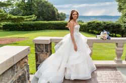 Bride on Veranda