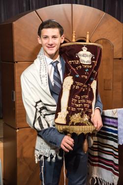 Mitzvah Boy and Torah