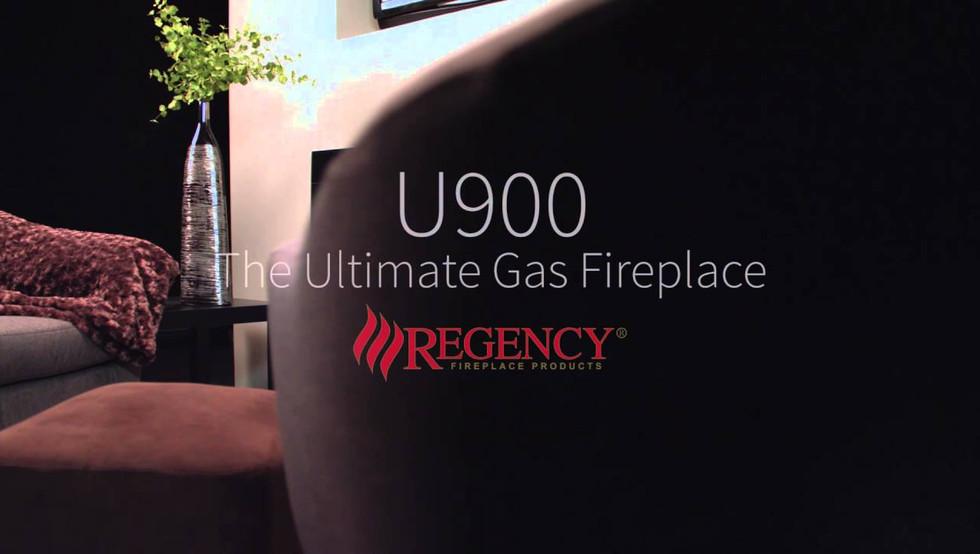 U900 ULTIMATE GAS FIREPLACE