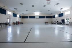 basketball court and gymnasium