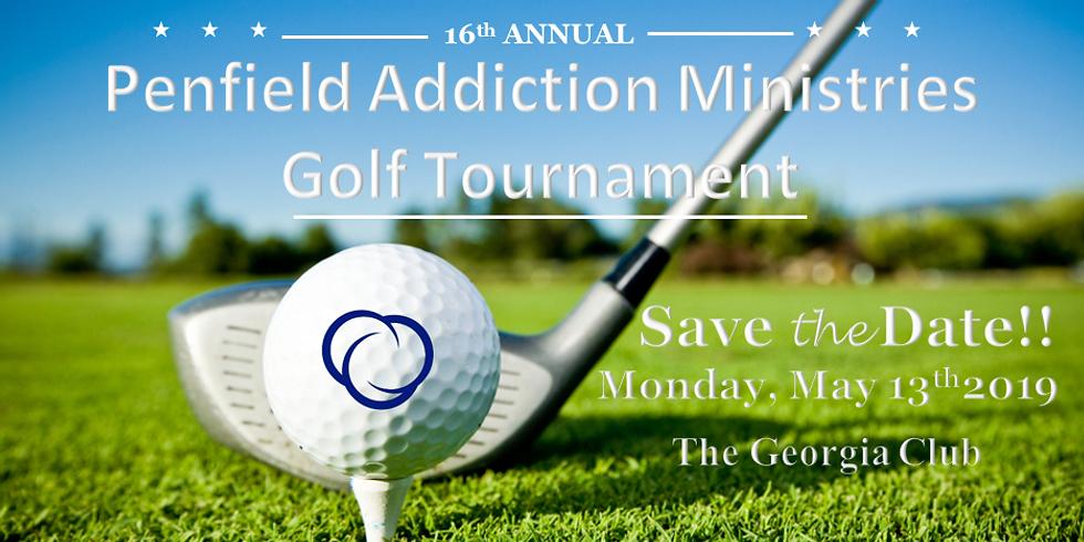 16th Annual Penfield Addiction Ministries Golf Tournament