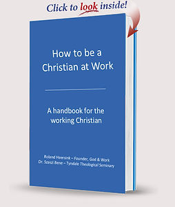 how to be a christian at my work