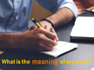 What is the meaning of work?