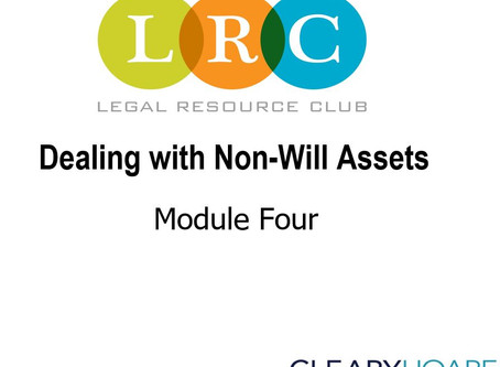 Webinar: Estate Planning Series 4: Dealing with Non-Will Assets