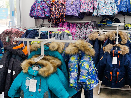 Зимняя коллекция верхней детской одежды