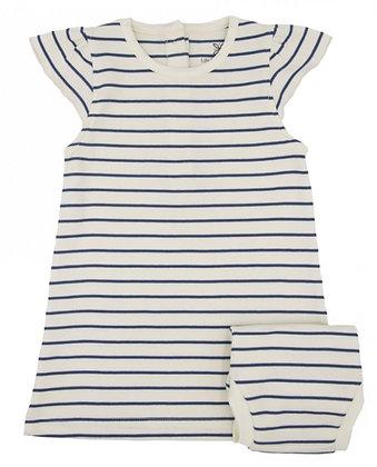 Lily & Mortimer Breezy Dress & Culotte Set - Stripe