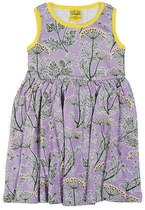 Duns dill dress - violet