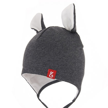 Bexa Dark Grey Mouse Hat