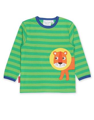 Toby Tiger Walking Lion Applique T-Shirt