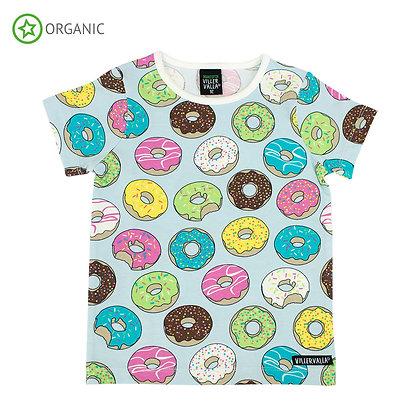 Villervalla Donut T-Shirt - Cement