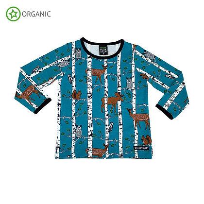 Villervalla Birch Animals Long Sleeve T-shirt