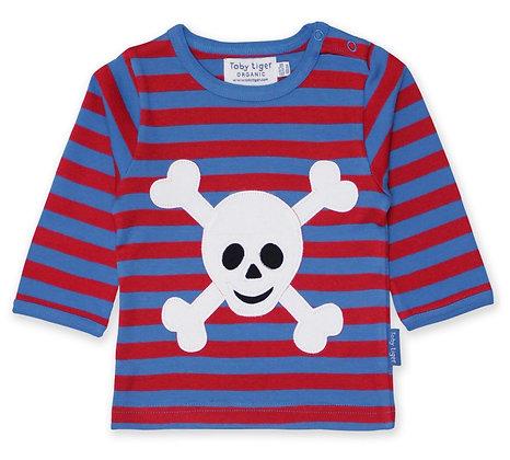 Toby Tiger Pirate Appliqué T-shirt