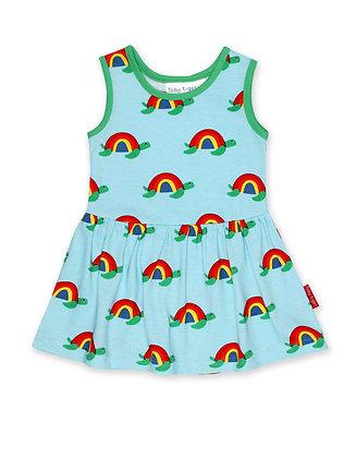 Toby Tiger Multi Turtle Print Dress