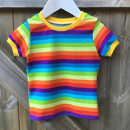 Rockit Handmade Rainbow T-shirt