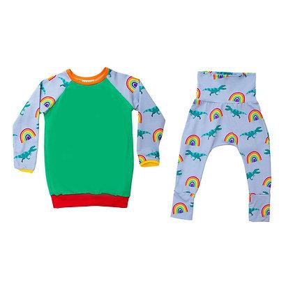 Rockit Handmade Rainbow Dinosaur Pyjamas