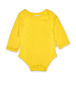 lsbgyel organic yellow basic ls babygrow