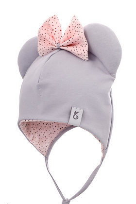 Bexa Mouse Hat with Bow