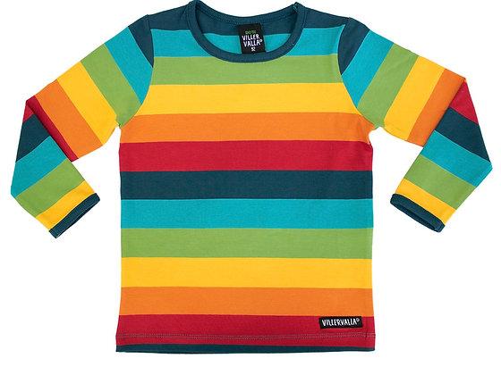 Villervalla Multi-Stripe Long Sleeve Tshirt
