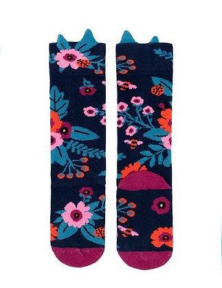 Billy Loves Audrey Garden Flowers Socks