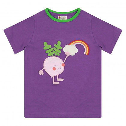 Piccalilly Rainbow Beetroot T-shirt