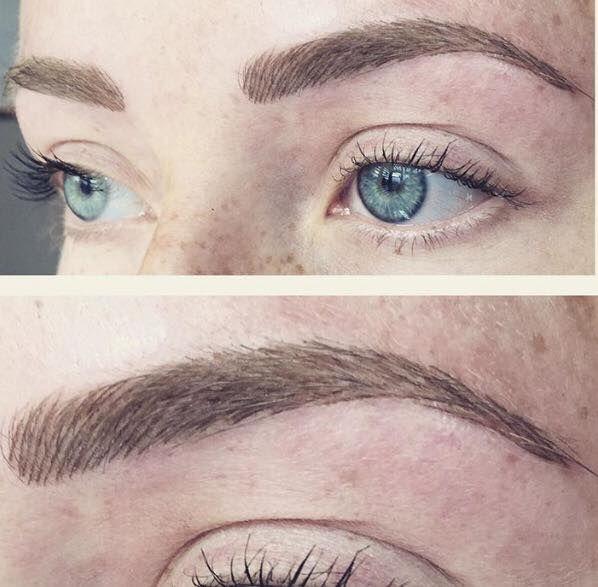 Natural Hair Stroke Brows.