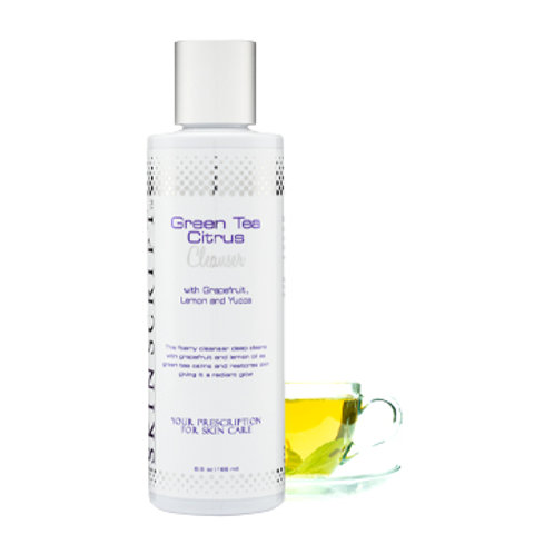 Green Tea Citrus Cleanser with Grapefruit, Lemon and Yucca