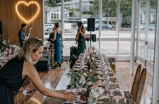 Wedding set up | Trio Events Ltd